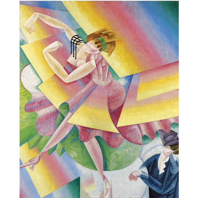 Gino Severini, Danseuse, 1915