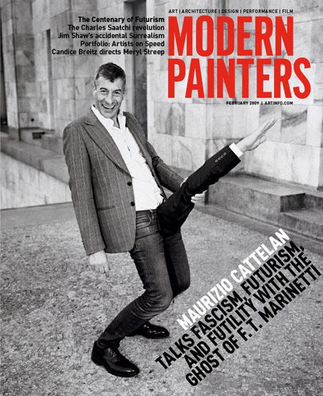 Modern Painters - February 2009