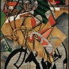 Jean Metzinger, At the Cycle-Race Track, 1912
