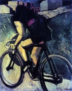 Mario Sironi, The Cyclist, 1916