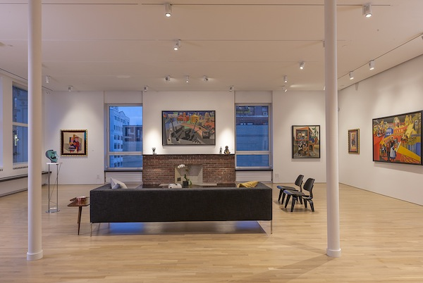 (Images: Fortunato Depero installation at the Center for Italian Modern Art, New York, NY. Photo by Walter Smalling Jr.)